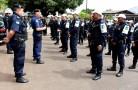 De acordo com o Tenente Coronel Ênedy da Coordenadoria Regional de Policiamento da Capital-CRP-I, o efetivo é composto por aproximadamente...