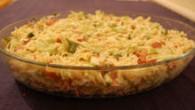 ingredientes 1/2 kg de macarrão do tipo parafuso ou zitti, 1 lata de ervilha com cenoura 1 cebola média ralada 3 colheres de maionese light […]