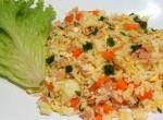 1 cenoura pequena 150g de presunto 3 ovos 300g arroz cozido Manteiga sem sal Alho Cebolinha Sal Azeite Corte a cenoura e o presunto em […]