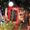 Uma carreta com baú frigorífico que saiu à tarde de Ariquemes com destino a São Paulo (SP) tombou na noite deste sábado (7) na BR-364 […]